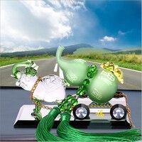 Otomotiv malzemeleri dekorasyon Froude parfüm parfüm araba koltuğu olarak Kırgızistan kristal cam kabak kabak