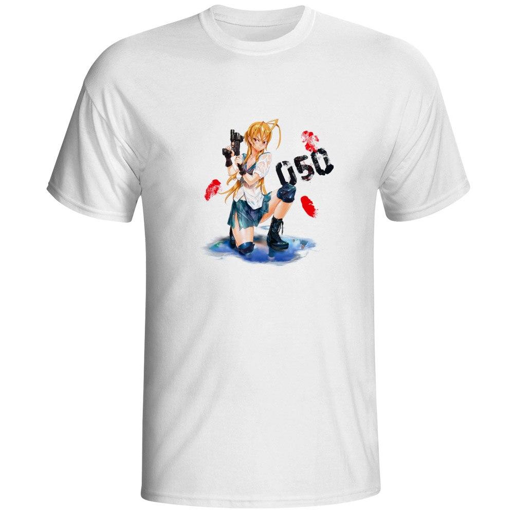 Миямото Рей футболка Высшая школа мертвого Стиль Забавный Новинка футболка творческий Повседневное хип-хоп Для женщин Для мужчин Топ