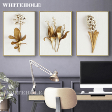 Wall Art Canvas Painting 3D Flower Picture Posters and Prints,Golden Flowers Poster Wall Pictures For Living Room Home Decor wall art canvas painting 3d flower picture posters and prints golden flowers poster wall pictures for living room home decor
