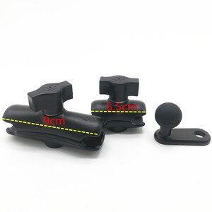 Image 1 - Nhôm L Loại 1 inch (25mm) bóng 10mm lỗ + Ổ Cắm Đôi Cánh Tay cho RAM gắn cho GoPro Hero 5 ĐỊNH VỊ GPS, Điện Thoại Thông Minh