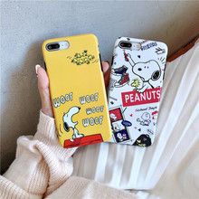 Matte Phone Case For iphone 6 7 8 Plus X XS Max XR case Animal Cartoon Soft TPU Back Cover iPhone cases Fundas