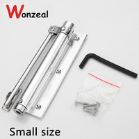 Small Option Casting Aluminum Automatic Mini Door Closer Length 160mm