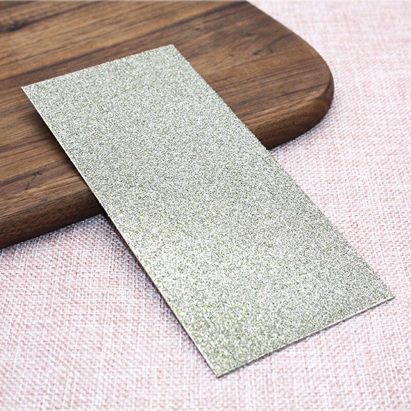 Aiguiseur de couteau 80 grain professionnel mince diamant couteau à aiguiser Whetstones plaque de polissage disque de meulage pierres abrasives