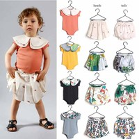 BABY ROMPER 2019 BABY GIRL CLOTHES CHRISTMAS CLOTHES BABY GIRL ROMPER SKIRTS RUFFLE ROMPER BABY BOY CLOTHES GIRLS ROMPER