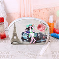 Cartoon Characters  Printing Shell Cosmetic Bag  Portable Make Up Bag Vintage Pattern HBG60