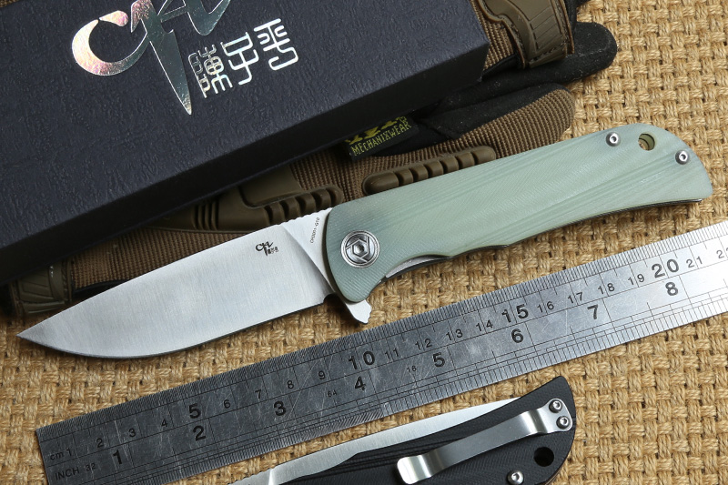 CH 3001 Flipper tactical ball bearing folding knife D2 blade G10 handle outdoor survival camping hunting Pocket knives EDC tools все цены