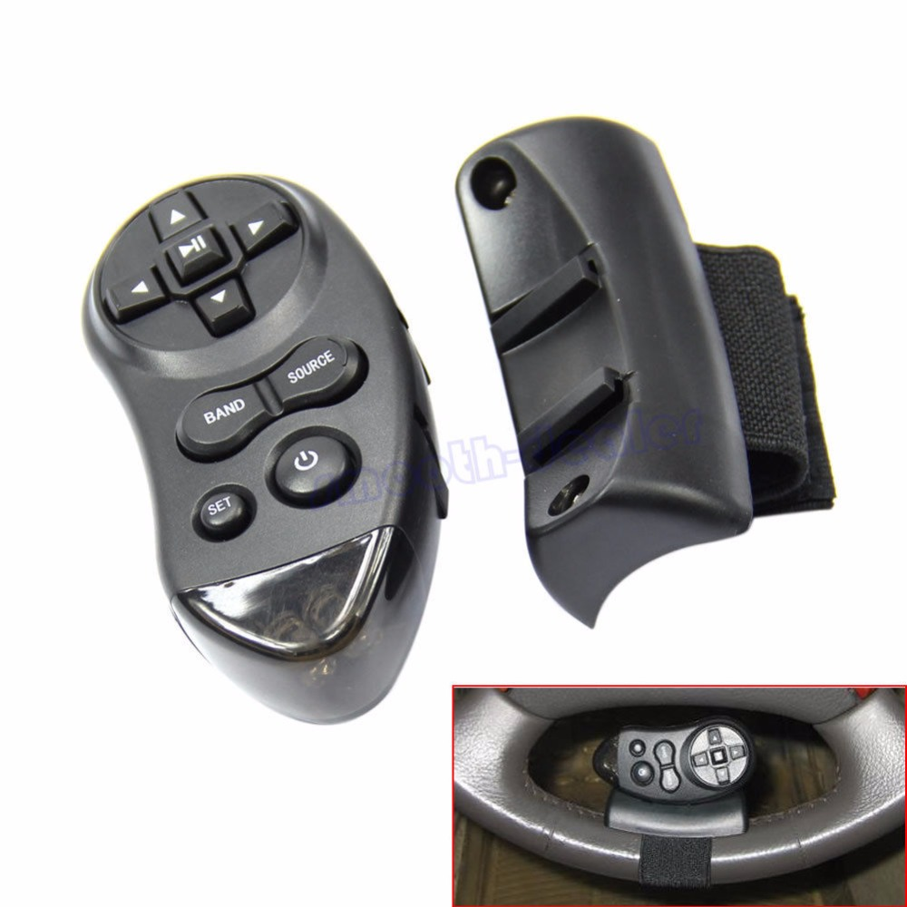 Car Universal Steering Wheel Learning Remote Control For Car CD DVD VCD