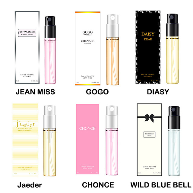 Lady charmant femmes déodorant parfum Spray femmes élégant rafraîchissant longue durée anti-transpirant parfum 3 ml