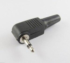 Image 4 - 50 stuks 3.5mm Mono TS Mannelijke Haakse Audio TS Adapter Connector Soldeer Plastic Cover