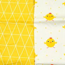 Chicken print cotton knit sewing diy patchwork clothing, BABY clothes