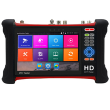 New 7inch Touch screen 8MP TVI 8MP CAI 5MP ADH 12MP IP CCTV Tester Monitor Analog Camera tester HDMI for cctv camera
