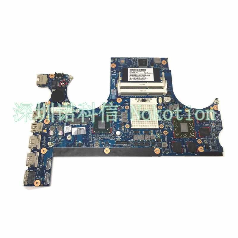 NOKOTION 689998-001 for hp ENVY 17 ENVY 17-3200 Laptop motherboard HM76 HD7850M 1GB graphics riho granada