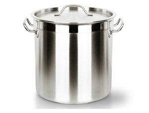 Ücretsiz kargo 12-170 LITRE paslanmaz çelik büyük tom kova kova bileşik taban kalın çorba tenceresi büyük ticari ev tuzlu su