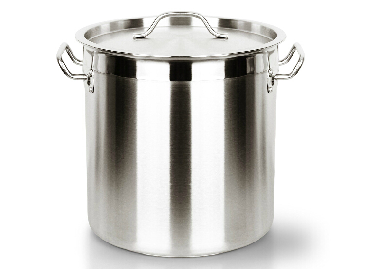 FREE SHIPPING 12 170 LITRE Stainless steel big tom bucket bucket compound sole thick soup pot large commercial household brine