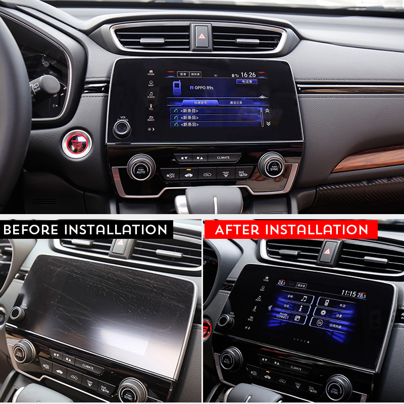 2017 2018 2019 Honda Reviews: For Honda CRV CR V 2017 2018 2019 Tempered Film Car Screen