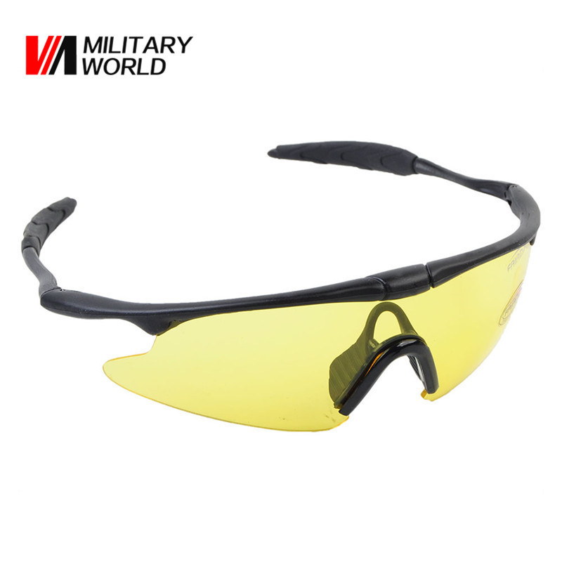 Airsoft Sporty UV400 Protect Shooting Glasses Goggles Cycling Ciclismo Eye Protect Male For Outdoor Fun Sports Ski Bicycle