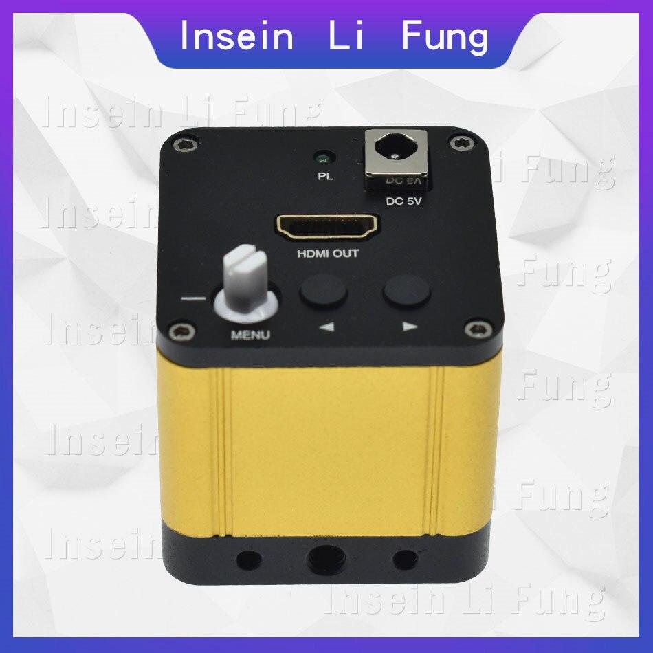 HD Câmera de Vídeo HDMI Microscópio Industrial Suprime A Luz Forte Anti-reflexivo Material de Detecção de Metal Reparo Do Telefone Móvel