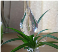 50pcs/lot 38mm K9 Clear Crystal Prism Pendant Glass Crystal Prisms DIY Pendant Natural Stones K9 Glass Light Hanging Droplets