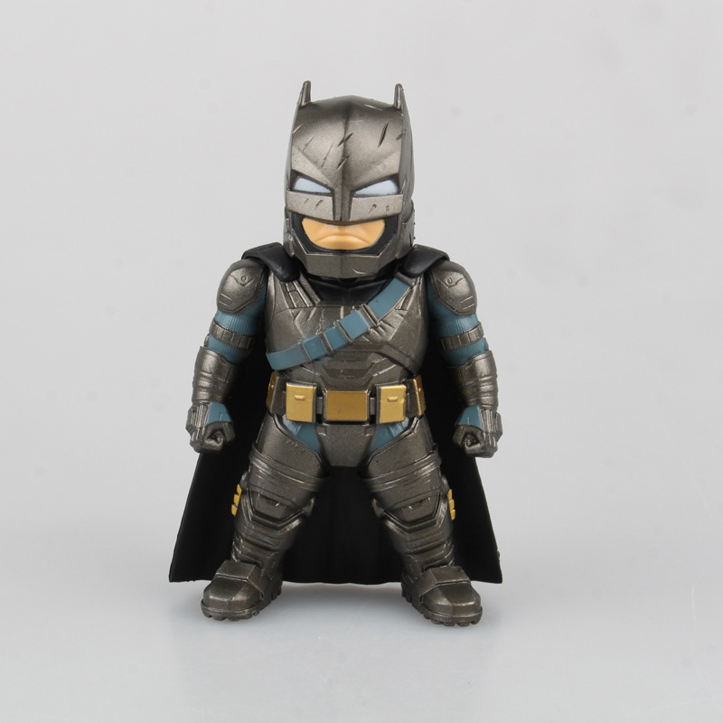 Batman V Superman Dawn of Justice Armored Batman Q Version Brinquedos PVC Action Figure Collectible Model Toys crazy toys batman v superman dawn of justice variant pvc action figure collectible model toy 27cm kt2281