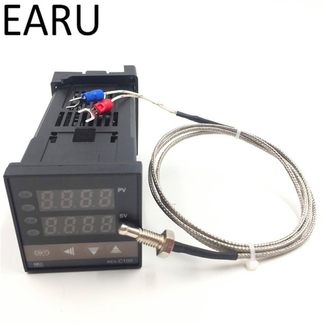 Dual Digital Rkc Pid Temperature Controller Rex C100