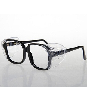 Image 3 - 2pairs Protective covers for glasses SideShields for Myopic glasses Safety Flap Side protective sheet Anti sand splash