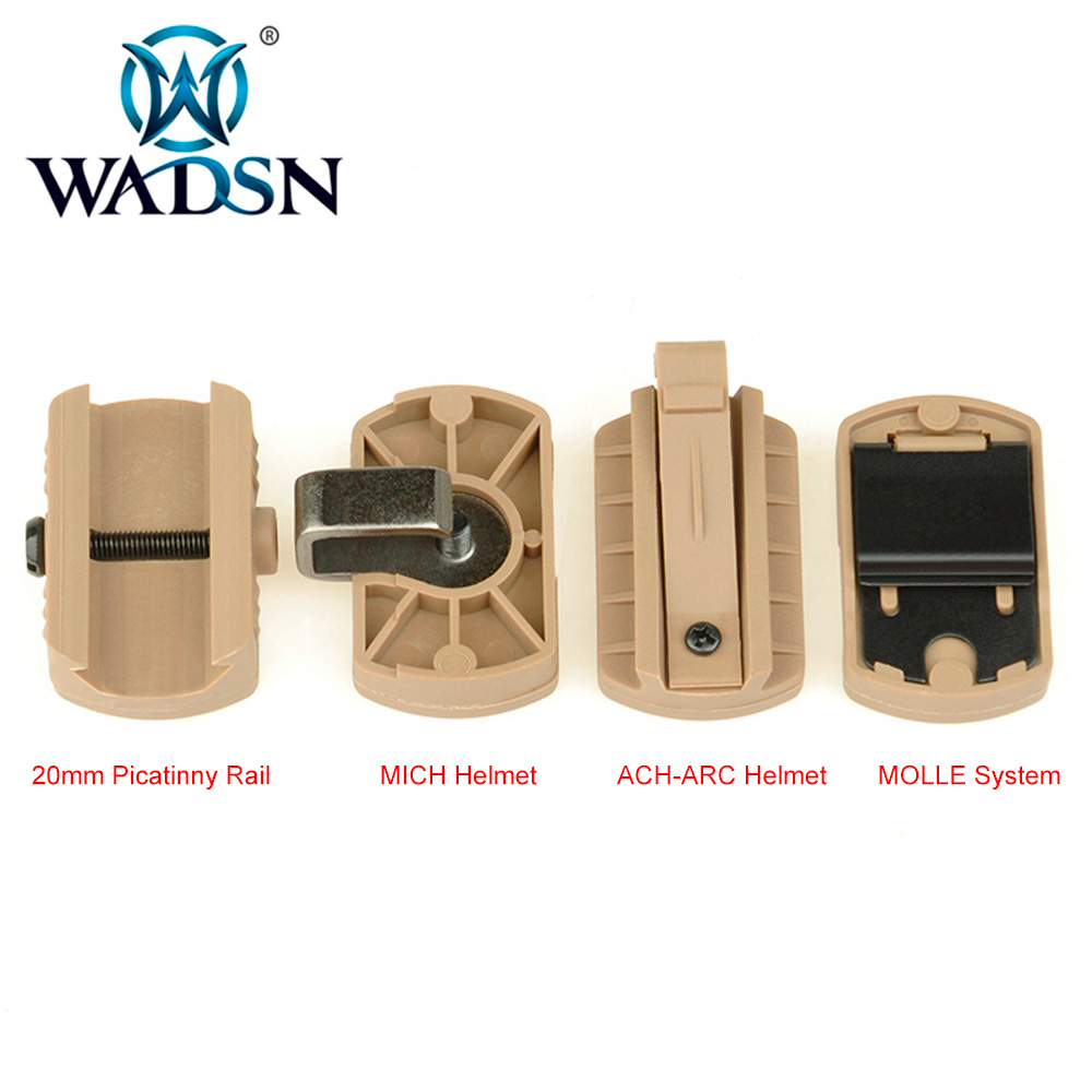 Image 4 - WADSN Princeton Tec MPLS 3 Tactical Helmet Light Military Hunting Airsoft Illumination Lighting System WNE05015 Weapon Lights-in Weapon Lights from Sports & Entertainment