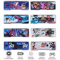 16 stickers to choose from Box 6 s 1388 in 1 Arcade console for PC TV PS3 Monitor HDMI VGA USB with Pandora Video Arcade machine