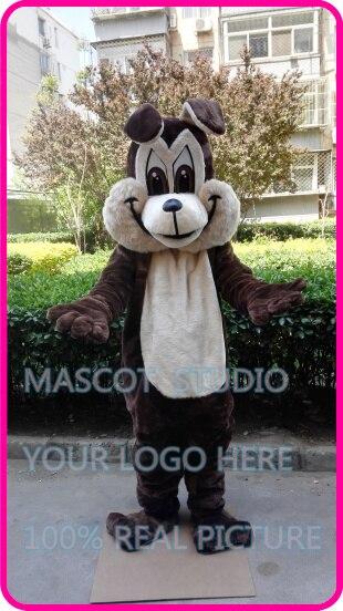 brown wolf coyote mascot costume custom fancy costume anime cosplay kits mascotte cartoon theme fancy dress