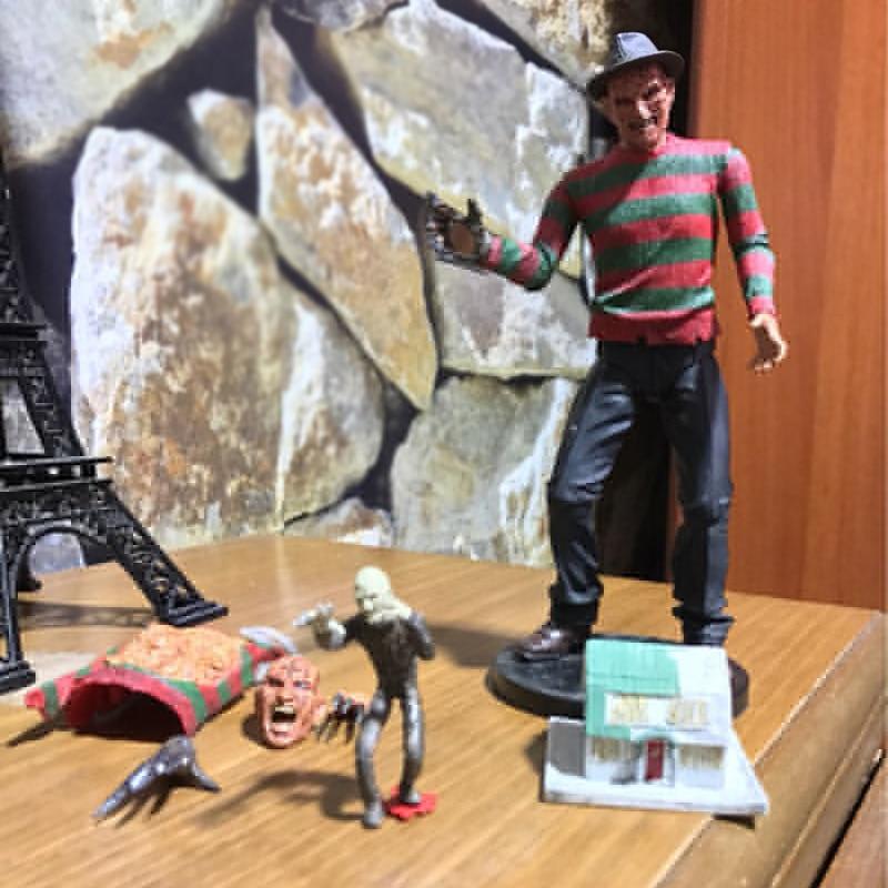NECA Horror Film A Nightmare On Elm Street Freddy Krueger Freddy's PVC Action Figure Toy Doll Christmas Gift For Kids