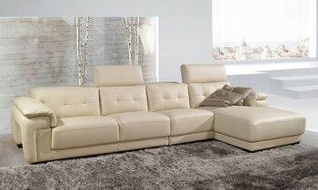 Бесплатная Доставка диван в Разрезе, 2013 Самый Современный Дизайн Г-Образный Натуральная Кожа Угловой Диван Бесплатная Доставка LA130-1