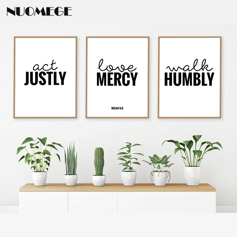 Bible Verse Posters and Prints Christian Scripture Motivational Quotes Wall Art Inspirational Words Pictures for Living Room