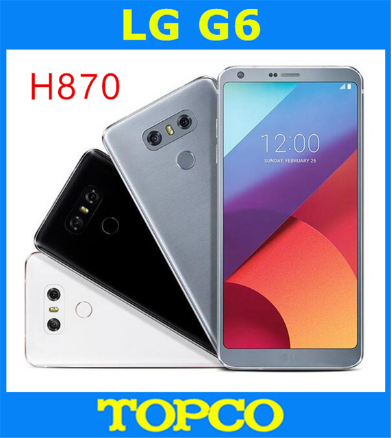 US $235 5 |LG G6 H870 Original Unlocked GSM 4G LTE Android Quad Core RAM  4GB ROM 32GB 5 7