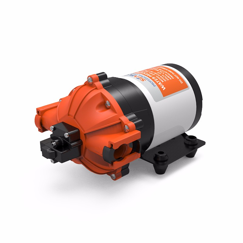 SEAFLO 12V DC 7.0 GPM 60 PSI 53-Series Diaphragm Water Pressure Pump for Marine Boat RV Caravan