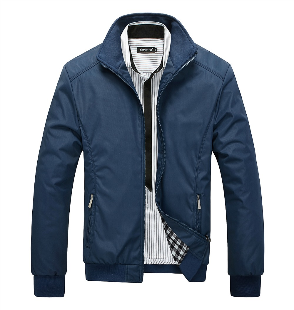 Men's Jacket Spring Autumn 2018 Fashion Brand Clothing Bomber Jackets Overcoat Mens Windbreaker Coat Slim Jaqueta Veste Homme