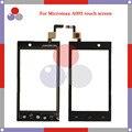 De alta calidad para micromax a093 sensor frontal del objetivo de cristal del panel digitalizador pantalla táctil envío gratis
