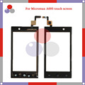 High Quality For Micromax A093 Touch Screen Digitizer Sensor Front Glass Lens panel Free shipping