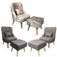 2018 Новый Стиль Классический Спальня Гостиная Эргономичная спинка кресла удобная домашняя Кухня табурет Набор декоративная мебель