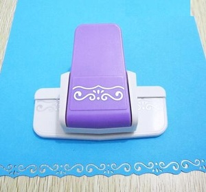 New arrival ruyi shape border punch foam paper embossing punch Edge craft punch scrapbook punches for paper cut