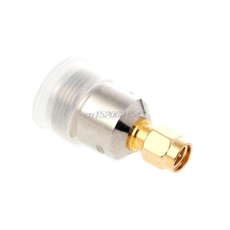 N prise femelle à SMA prise mâle RF adaptateur coaxial convertisseur droit nickelé R24 livraison directe