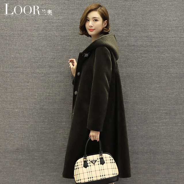 Robe longue hiver en laine