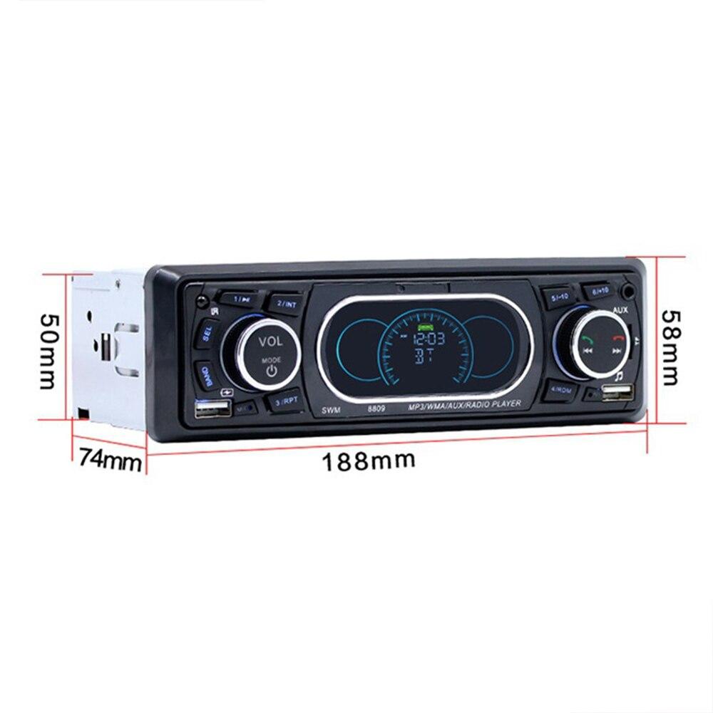 Vehemo AUX/TF/USB автомобильный комплект mp3-плеер аудио плеер для автомобиля MP3 DV12V Авто Аудио USB, SD/MMC