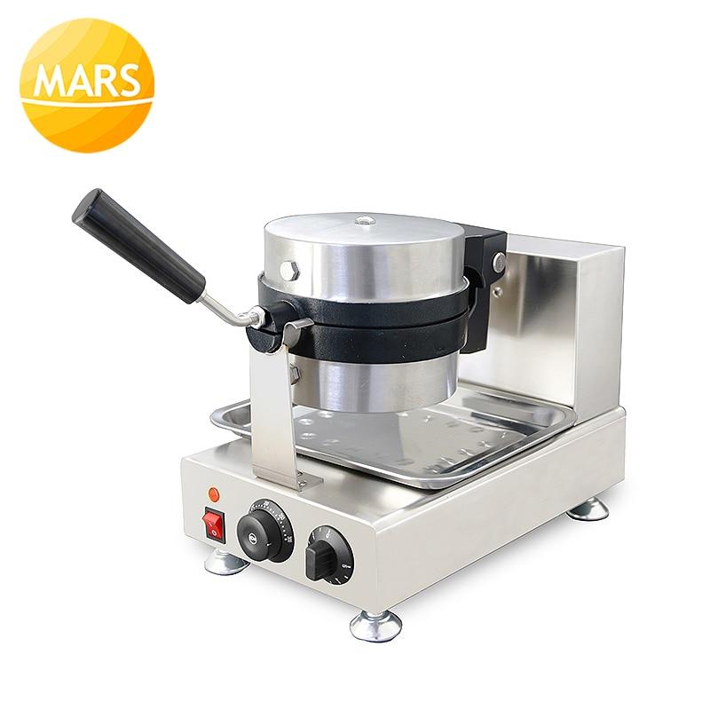 Nueva máquina de prensa comercial de helados de Donut, postres italianos, Gelato Panini, 220V/110V, máquina de prensado de hamburguesas - 5