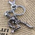Esqueleto cráneo llavero llavero llavero key holder creative sleutelhanger portachiavi llaveros chaveiro hombre regalo de Halloween