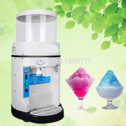 free ship multifunctional 300kg / h commercial electric sand ice machine automatic ice crusher machine snow ice machine