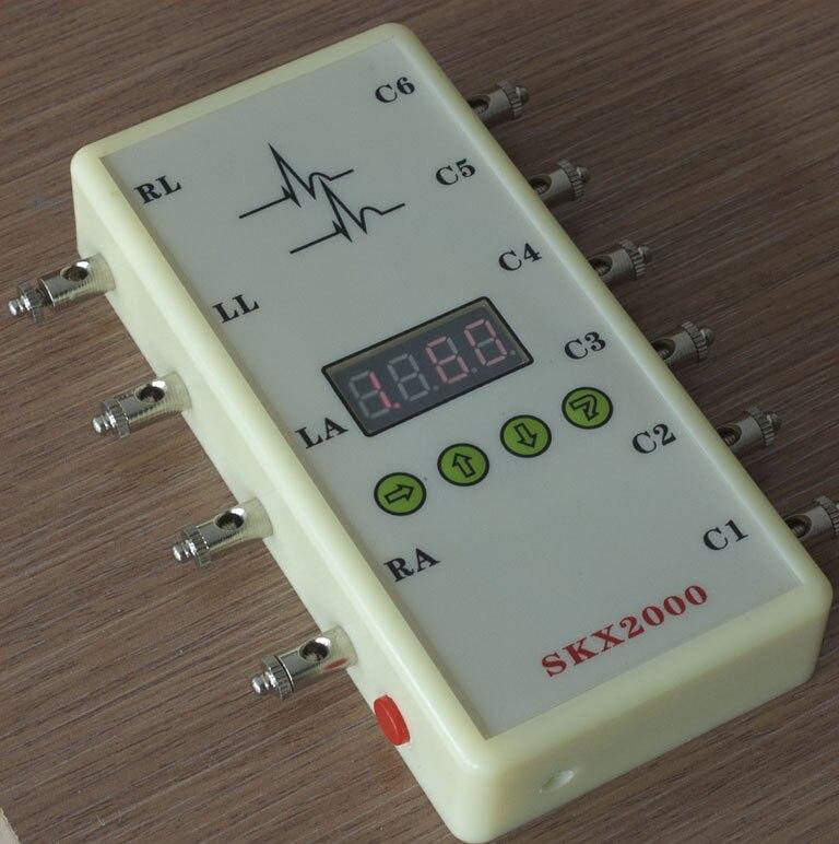 SKX-2000C ECG Simulator ECG Signal Simulator Signal Generator 10-200bpm skx 2000c ecg simulator ecg signal simulator signal generator 10 200bpm
