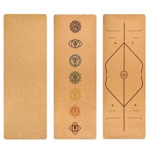 Cork TPE Non-slip Yoga Mat 5mm