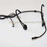 Beige Headphone Capacitive Cardioid Microphone Headset Microphone For AKG Wireless Transmitter Mini XLR 3 Pin TA3F Microphone
