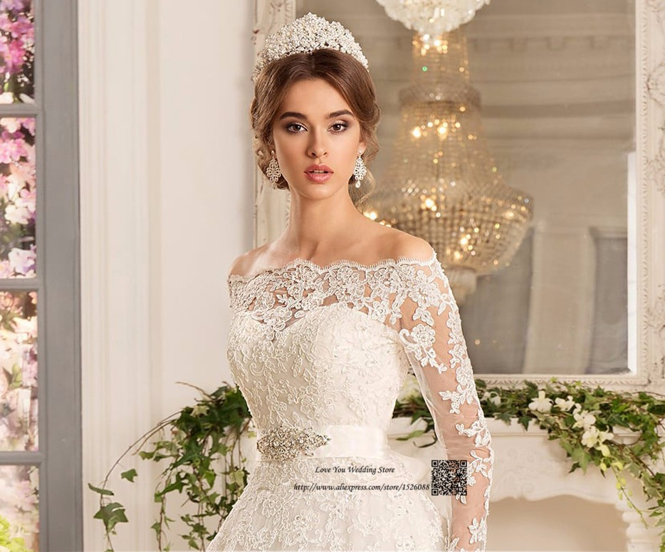Western Country Turkey Boho Wedding Dress Long Sleeve Lace Bridal Dresses  Vestido de Noiva Princesa Wedding Gowns Louisvuigon. H3480 (1) H3480 (2)  H3480 (4) ... 2add5ed83dc5