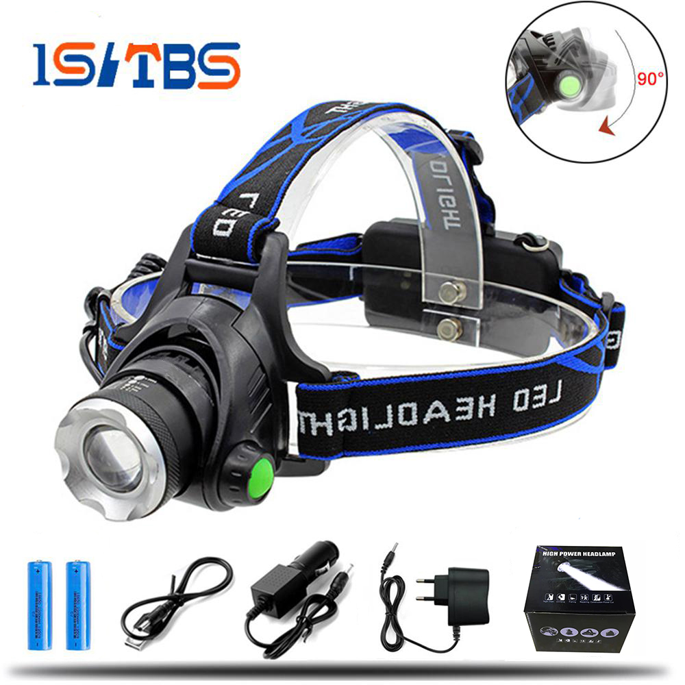 Led Headlamp 6000LM Cree XML-L2 XM-L T6 Zoomable Headlight Waterproof Head Torch flashlight Head lamp Fishing Hunting Light bike bicycle xml t6 led headlamp headlight zoomable adjustable head light