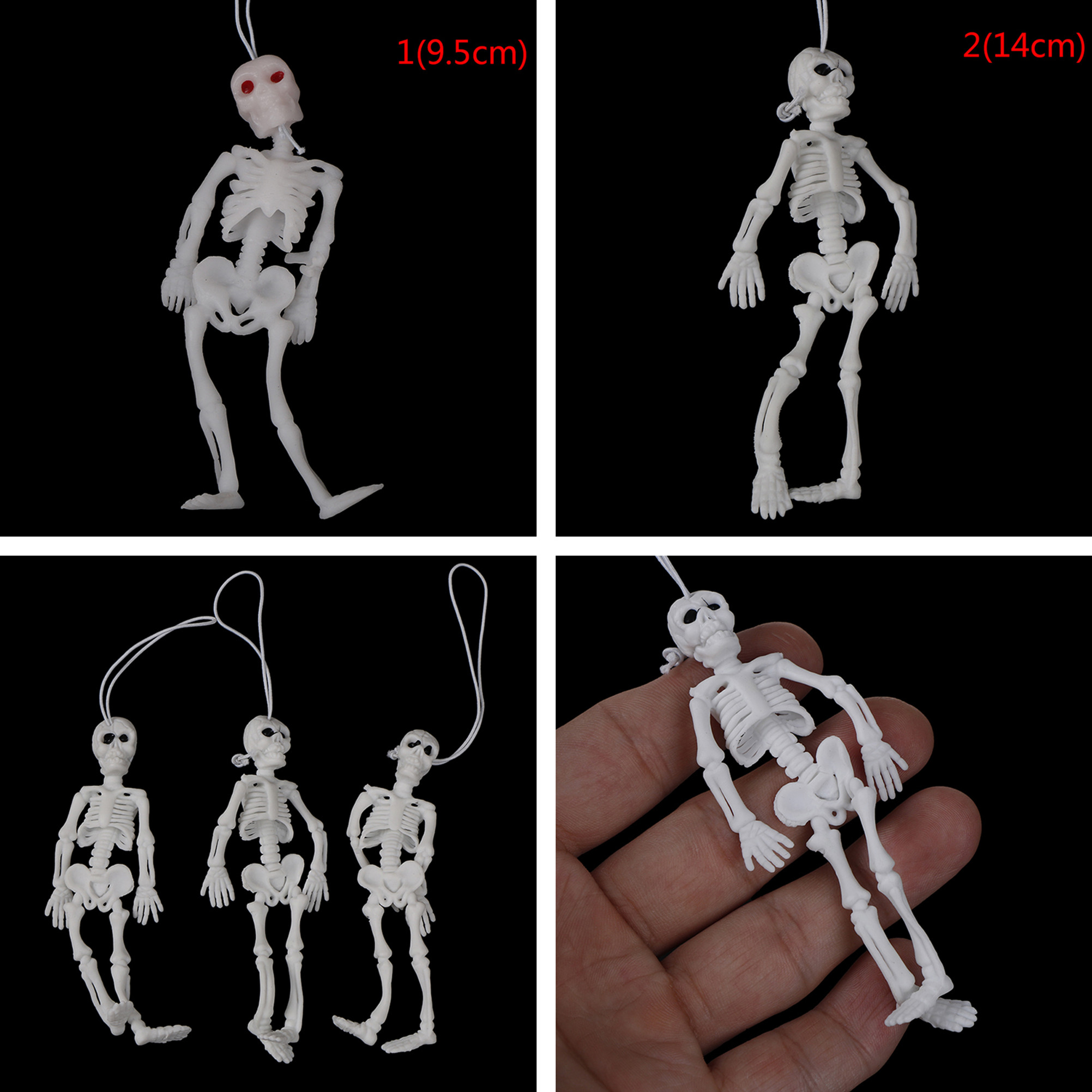 2pcs Fashion Jewelry Men Women Boys Girls Keychains Toilet Skull Skeleton On Commode Rubber Keyring Charms Car Keyfob